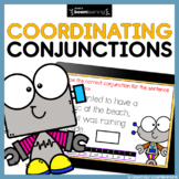 Coordinating Conjunctions Boom Cards | Distance Learning