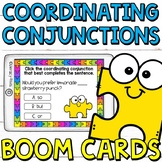 Coordinating Conjunctions Boom Cards (digital task cards)