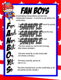 Coordinating Conjunctions- FANBOYS