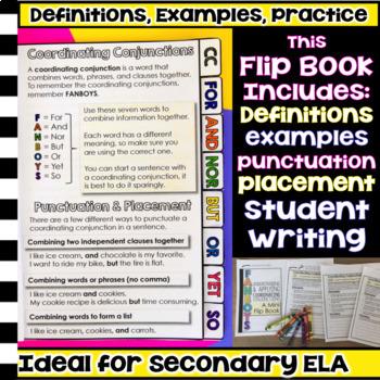 Coordinating Conjunctions Mini Flip Book