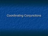Coordinating Conjunctions PowerPoint Slide Show