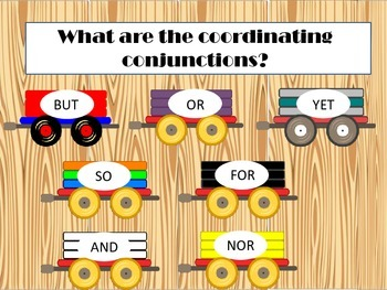 Coordinating Conjunctions Powerpoint