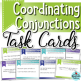 Coordinating Conjunctions Task Cards for Secondary ELA (80