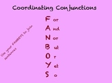 Coordinating Conjunctions for Mimios
