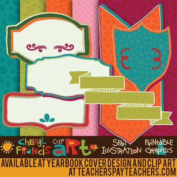 Coordinating Papers, Borders, Arts, Frames, And More! Over 200 pieces.