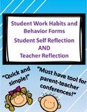 Coordinating Student & Teacher Reflection Checklist  {Pare