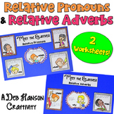 Relative Pronouns & Relative Adverbs: Two Craftivities!