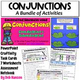 Coordinating & Subordinating Conjunctions Bundle: Combining Sentences