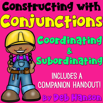 Teach your students about coordinating conjunctions and subordinating conjunctions with this PowerPoint.