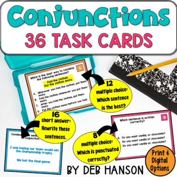 Combining Sentences w/ Coordinating and Subordinating Conj
