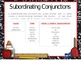 Coordinating and Subordinating Conjunctions PowerPoint Presentation