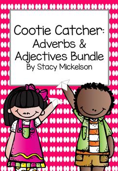 Cootie Catcher - Adjectives & Adverbs Bundle ~NEW!~