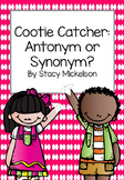Cootie Catcher - Antonym or Synonym ~NEW!~