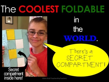 S.A.T. Cootie Catcher BUNDLE with Coolest Foldable in the World!