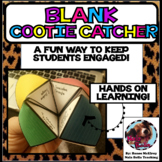 Cootie Catcher Blank
