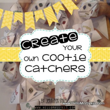 Cootie Catcher Create Your Own