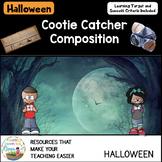Cootie Catcher Composition Halloween Edition