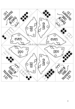 Cootie Catcher - Even or Odd? ~Updated & Expanded~