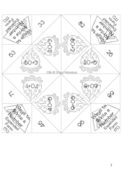 Cootie Catcher - Expanded Form & Written Form ~New!~