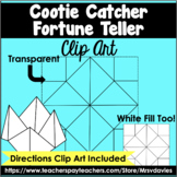 Cootie Catcher Fortune Teller Clip Art