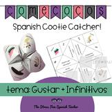 Spanish Fortune Teller, Cootie Catcher GUSTAR + INFINITIVES