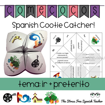 Spanish Fortune Teller Comecocos IR in the PRETERIT