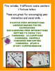 Cootie Catcher/Fortune Teller for Social Skills Encouraging Student Interaction