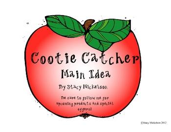 Cootie Catcher - Main Idea