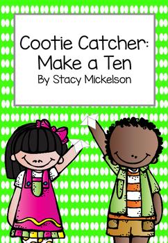 Cootie Catcher - Make a Ten ~New!~