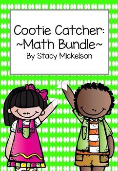 Cootie Catcher - Math Bundle ~New!~
