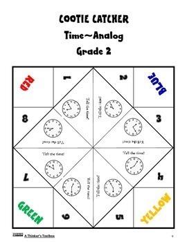 Cootie Catcher Math Hand Game Gr 1-2