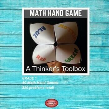 Math Hand Game - Grade 1