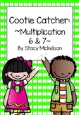 Cootie Catcher - Multiplication 6 & 7 ~NEW!~