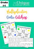 Cootie Catcher Multiplication