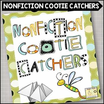 Nonfiction Comprehension Cootie Catchers