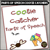 Parts of Speech Cootie Catchers