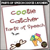 Parts of Speech Cootie Catchers