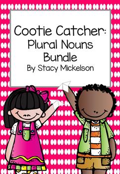 Cootie Catcher - Plural Nouns Bundle ~NEW!~