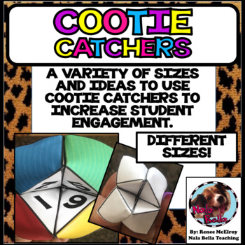 Cootie Catcher Question and Answer Blank