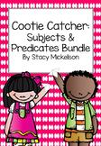 Cootie Catcher - Subjects & Predicates Bundle ~NEW!~