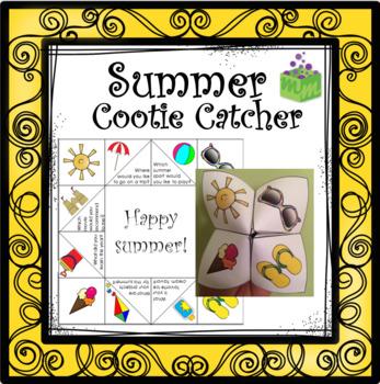 Cootie Catcher Summer