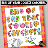 End of the Year Cootie Catchers