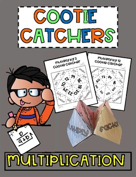 Cootie Catchers Fortune Tellers Multiplication