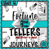 Journeys SECOND Grade  Cootie Catchers: Unit FOUR