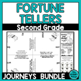 Journeys SECOND Grade Cootie Catchers: The BUNDLE for Units 1-6