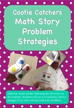 Cootie Catchers: Math Story Problem Strategies