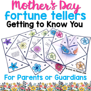 Cootie Catchers - Mother's Day {Getting to Know You!}