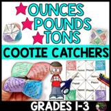 Ounces Pounds Tons Cootie Catchers
