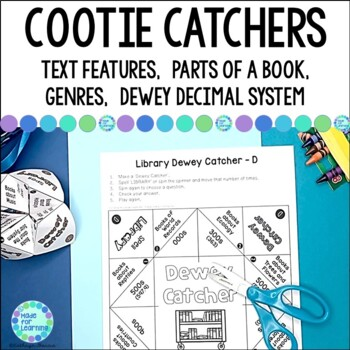 Library Skills: Cootie Catchers and Fortune Tellers for School Media Centers