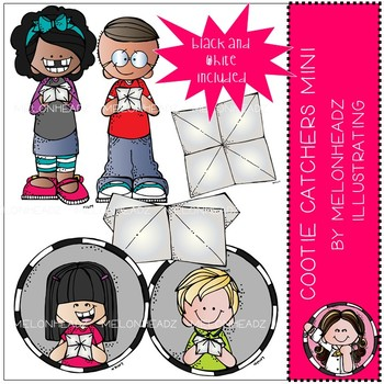 Cootie Catchers clip art - Mini - by Melonheadz